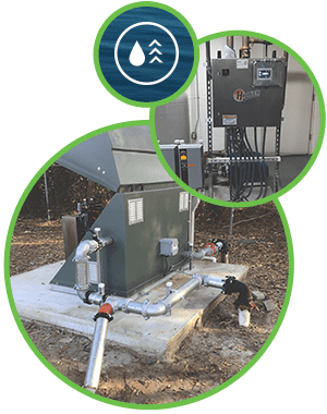 Booster Systems For City Or Re-Use Water